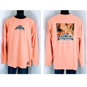 NWOT - Huf Worldwide L/S Hand Dyed Graphic Tee